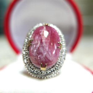 แหวนพลอยทับทิมพม่าบ่อเก่า