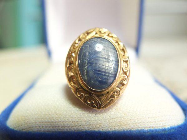 แหวนทองนิหร่าแก้วมีสตาร์
