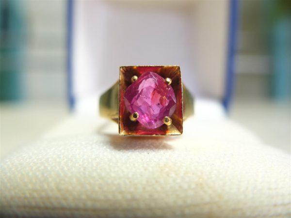 แหวนทองทับทิมสยาม
