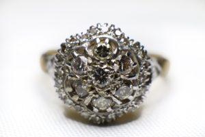 แหวนทองยอดเพชรเกสร
