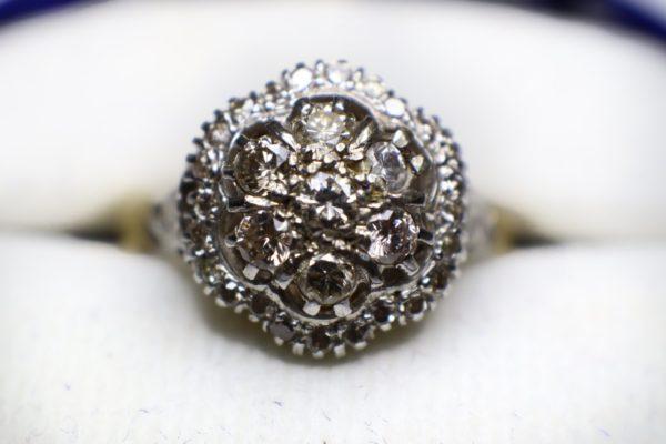 แหวนเพชรโบราณ