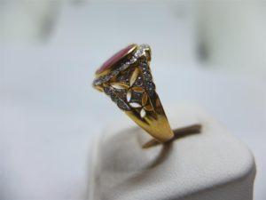 แหวนทับทิมเจียรพม่า-2