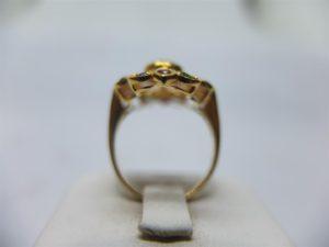 แหวนทองทรงมาร์คีโบราณ-3