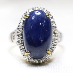 แหวนพลอยนิหร่าพม่า