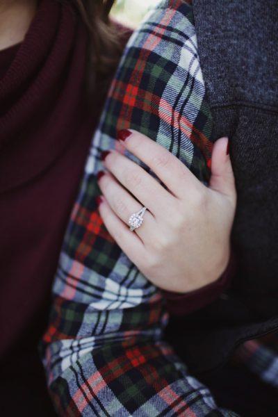 ใส่แหวนนิ้วนาง