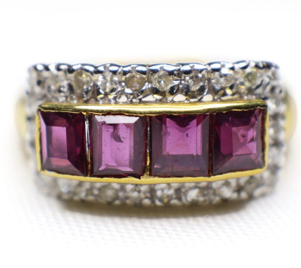 แหวนทองทับทิมจันทร์