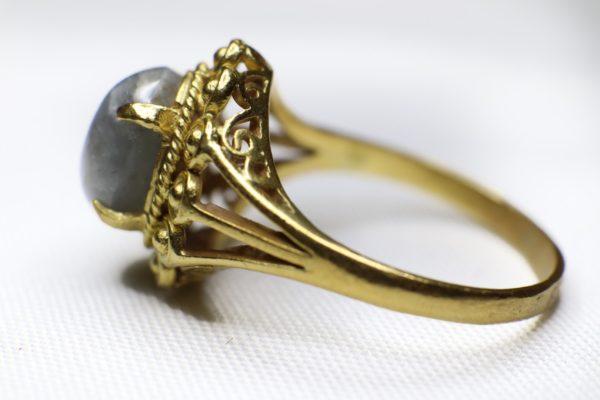 แหวนดุนลายทอง