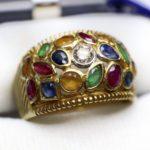 แหวนหัวพลอย สีชมพูอันงดงาม