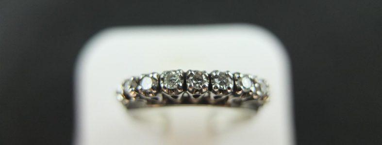 แหวนเพชรแถว