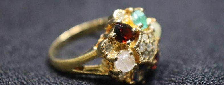 แหวนนพเก้าโบราณ